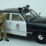 modellautos 1950 Ford Police Precision Miniatures 15