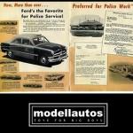 modellautos 1950 Ford Police Precision Miniatures Catálogo