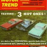 modellautos Motor Trend Cover