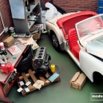 modellautos diorama TR3A Corner 10L