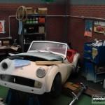 modellautos diorama TR3A Corner 14L