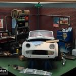 modellautos diorama TR3A Corner 20L