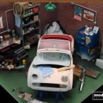 modellautos diorama TR3A Corner 21L
