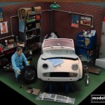modellautos diorama TR3A Corner 26L