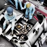 modellautos diorama 24HPS 49L