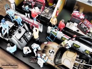 modellautos diorama 24HPS 7L